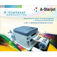 Quality Astar Roll To Roll Laser Printer  CMYK 4Color Toner for Short Run Label Making wholesale