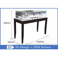Quality OEM Simple inexpensive Wooden Jewellery Shop Counter Design  With Led Lights wholesale