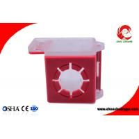 China Transparent PC Plastic Emergency Stop Lockout  ZC-D54,Electrical Lockout Devices on sale