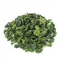 Quality Spring Organic Oolong Tea Tie Guan Yin With Flattened Green Tea Leaves wholesale