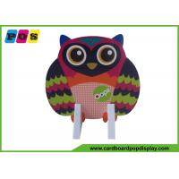 Quality Retail Paperboard Standee Display Assembly Packing With Owl Printing AD004 wholesale