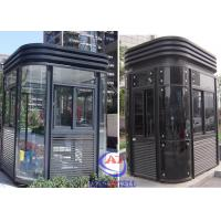 Quality Parking Entrance Modern fire resistant security guard room Nice wholesale