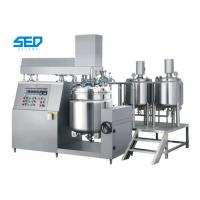 Quality High Capacity Vacuum Emulsifying Machine Button Controlled For Ointment / Cream / Lotion wholesale