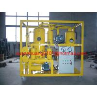 China Two stage vacuum Insulating oil regeneration machine on sale