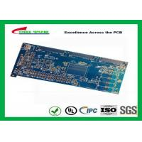 Quality Blue 20 Layer Quick Turn PCB Prototypes 3.5MM Immersion Gold 0.25mm Hole wholesale