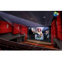 Quality Huge Amazing 4D Movie Theater with Metal Flat Screen , Genuine Leather + Fberglass wholesale
