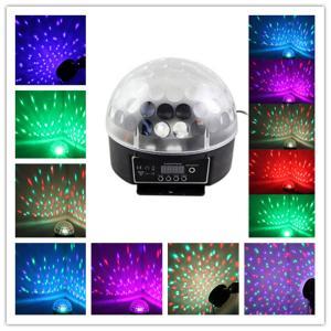 Quality Digital DMX Disco DJ Stage Lighting Crystal Ball Projector Effect Light RGB LED Light Bar wholesale