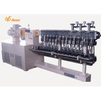 China 3 Phase Reactive Co Rotating Twin Screw Extruder With Devolatilization Vents on sale