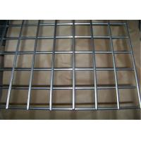 China Galvanized Vinyl Coated Wire Mesh Metal Mesh Panels / Welded Wire Fabric For Concrete on sale