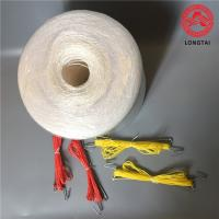 Quality Hanging Raw White  Tomato Tying Twine With Hook 100% Polypropylene For Agricultural wholesale