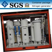 Quality Container type PSA nitrogen generator for Oil&Gas pressure tank &pipes surging for sale