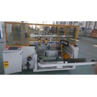 China Glass / PET Bottle Automatic Carton Packing Machine Case Former With Adhesive Tape on sale