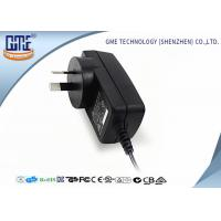Quality Fire retardant PC 18W Wall Mount Power Adapter , AC To DC Power Adapter wholesale