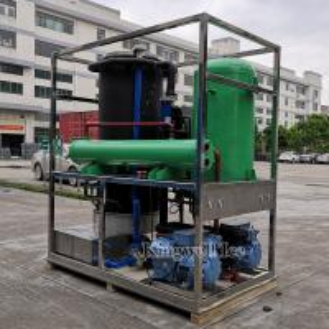 China Transparent Ice Tube Making Machine Cylinder Ice Maker 10ton Per Day on sale