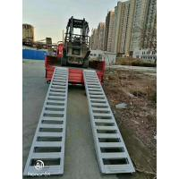 China 6061 Alloy Aluminum Ramp Metal Welding Parts Durable For Truck Rail Loading System on sale