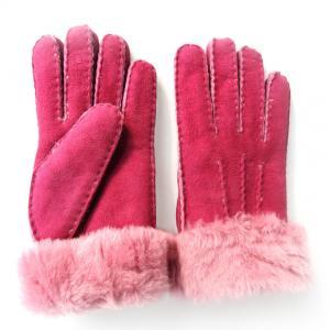 2018 very comfortable and soft real lamb fur shearing sheep skin fashion women gloves