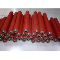 China Rubber Coating Active High Speed Conveyor Rollers For Production Line Machine on sale