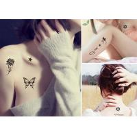 Buy cheap Custom Made Removable Temporary Body Tattoo Stickers For Men / Boys / Guys product