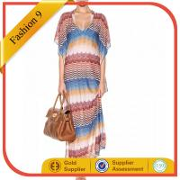 Women Crochet-knit kaftan Maxi Dress