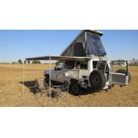 Quality Off Road Hard Shell Roof Top Tent Side Open ABS Shell Material For 3-4 Person wholesale