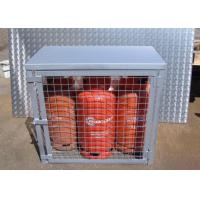 China Compressed Gas Cylinder Cages Gas Canister Storage For Warehouse 800*900*430mm on sale
