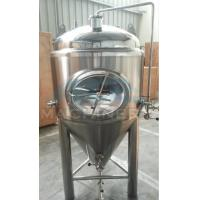 Quality Cooling Conical Fermenter, Home Brewing, Beer Fermentation Tank 50L--10000L Conical Stainless Steel Fermentation Tank wholesale