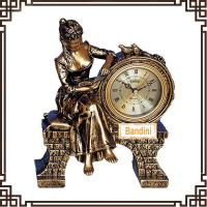 China Classic Home Decor table Clock, Quality desktop Clock, art decorative clock 502BK on sale