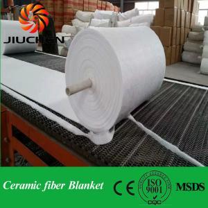 China 1260C thermal insulation ceramic fiber blanket on sale