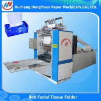 Cheap Printing Embossing Box Packed Facial Tissue Machine for sale