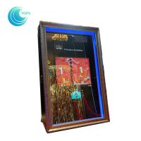 Quality Led open air wedding photo booth 3d mirror selfie photo booth wholesale