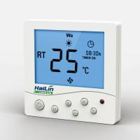 Touch Screen Fan Coil Thermostat 110V / Digital Programmable Thermostat