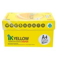 Quality IK Yellow copy Paper A4 80gsm/75gsm/70gsm wholesale