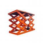 Quality CE Approved 4 Ton Electric Lift Platform 4000kg Hydraulic Car Scissor Lift Table wholesale