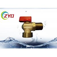 Quality M1 2 M3 4 Nickel Plated Plumbing Angle Valve, Level Side Handle Brass Water Valve wholesale