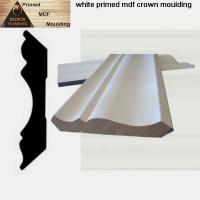 Quality Chinese white gesso primed MDF mouldings with best price wholesale