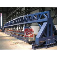 Steel Plate Edge Beveling Machine , Plate Beveling Equipment Hydraulic