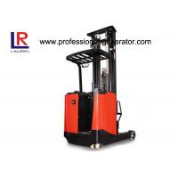 China 3 M Lift Height Warehouse Material Handling Equipment Electric Stand - Up Reach Forklift Truck on sale