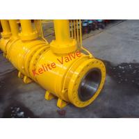 Quality API ISO CE Standard Fully Welded Ball Valve , Metal Seated Ball Valves wholesale