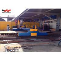 Custom CNC Strip Cutting Machine With Flame / Oxygen Fuel For Plate Cutting Equipment