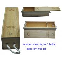 China Wooden Wine Gift Boxes for Sale, Wood Wine Packaging Box for Wholesale on sale