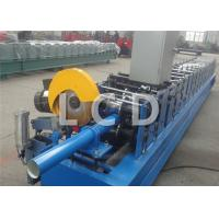 Quality Steel Downpipe Cold Roll Forming Machine 380V 50HZ Customized Weight wholesale