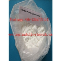 China Bodybuilding Supplement Raw Hormone Powders Anastrozole Arimidex CAS 120511 73 1 on sale