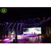 China Outdoor P3 Super Slim Stage Background Led Screen Black Diamond Chip on sale
