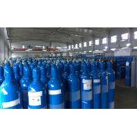 Quality Steel High Pressure 10L / 16L Industrial Compresses Gas Cylinder , Height 495-1000MM wholesale