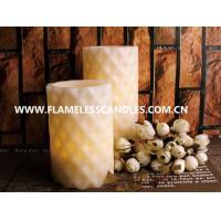 Buy cheap Battery Operated Decoration Flameless LED Pillar Candles For Wedding / Dinner / Party product