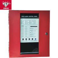 Conventional fire alarm 24V 2 wire systems controll panel 8 zones