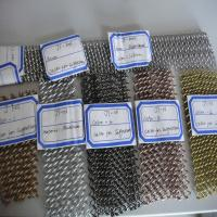 Quality stainless steel.copper wire,aluminium wire decorative wire mesh for home&office 4-8mm wholesale