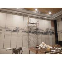 China Commercial Furniture Classroom Acoustic Partition Wall Panel 500 - 1200 MM Width on sale