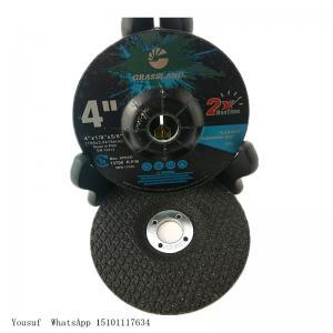 Quality Grinder Grassland 4'' Mpa Certificate Inox Cutting Discs wholesale