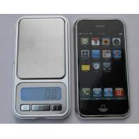 China 500 x 0.01g Portable Digital Pocket Scale LCD Display With Blue Back Light on sale